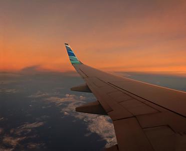 Flug Frankfurt - Singapore - Jakarta - Ternate