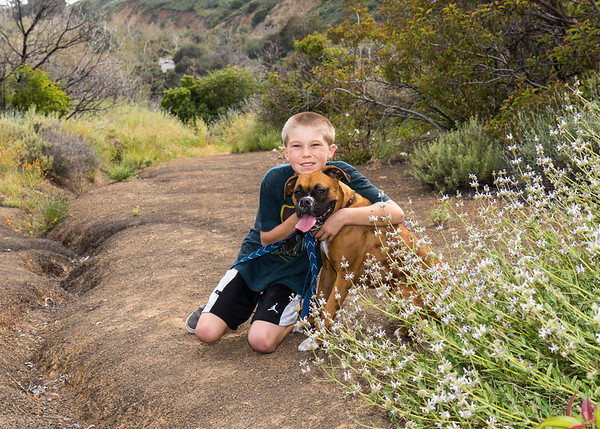 Charley Stahl's 4th Birthday at Leo Carillo Campground