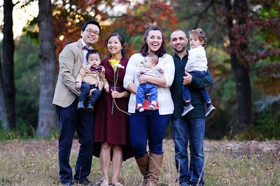 Family Pics with Kims and Lazos