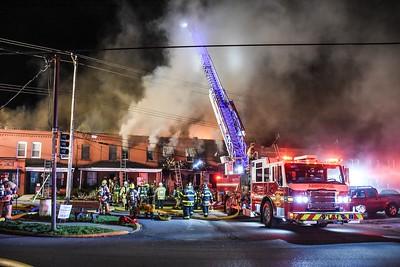 Ambridge residential structure fire 511 Glenwood Avenue