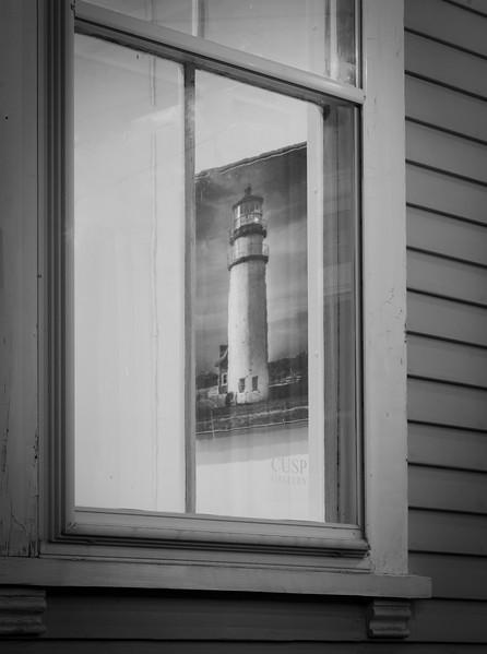 Cusp Gallery window