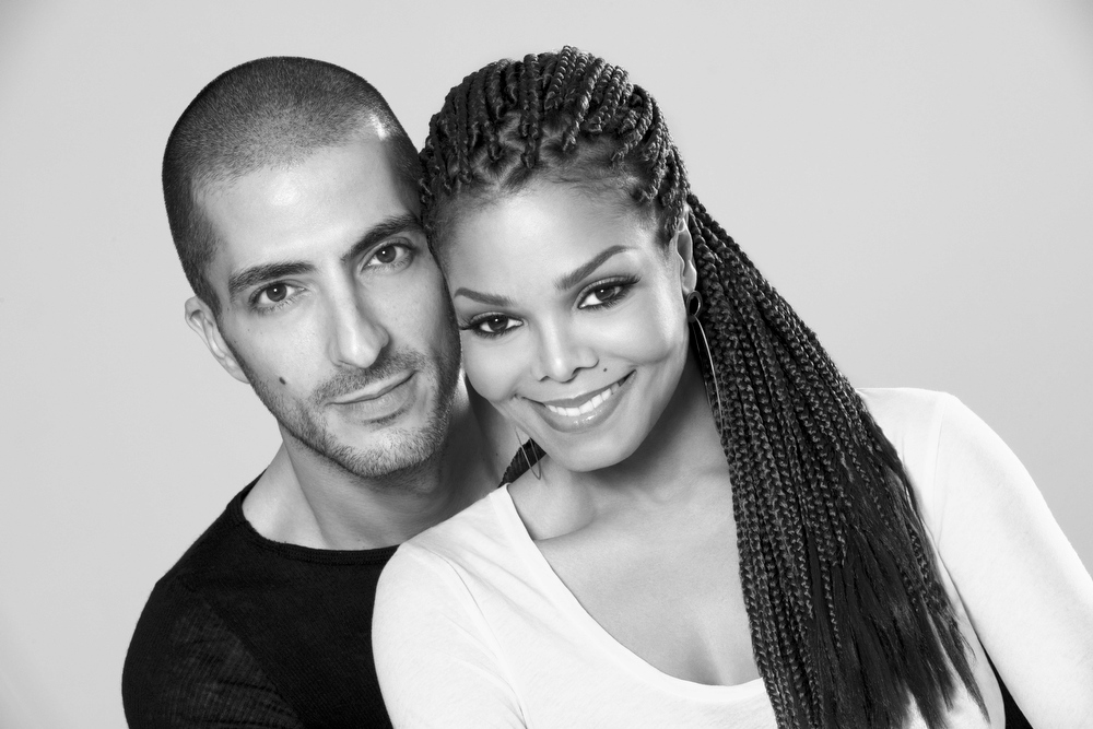 Description of . This 2012 publicity photo provided by Guttman Associates shows Janet Jackson with Wissam Al Mana, in a portrait taken by photographer, Marco Glaviano. A representative for Jackson confirmed Monday, Feb. 25, 2013, that the musician and Wissam Al Mana wed last year. (AP Photo/Guttman Associates, Marco Glaviano)