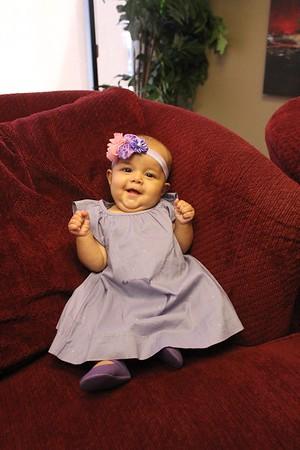 Baby Dedication August 16, 2015