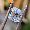 3.10ct Vintage Emerald Cut Diamond, GIA H VS1 8