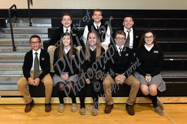 Berks Catholic Student Council Induction 2016 - 2017
