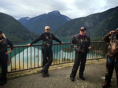 Diablo Lake Ride 2014