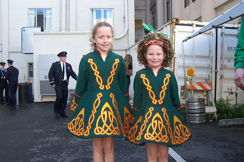 Irish Dancers Entertained