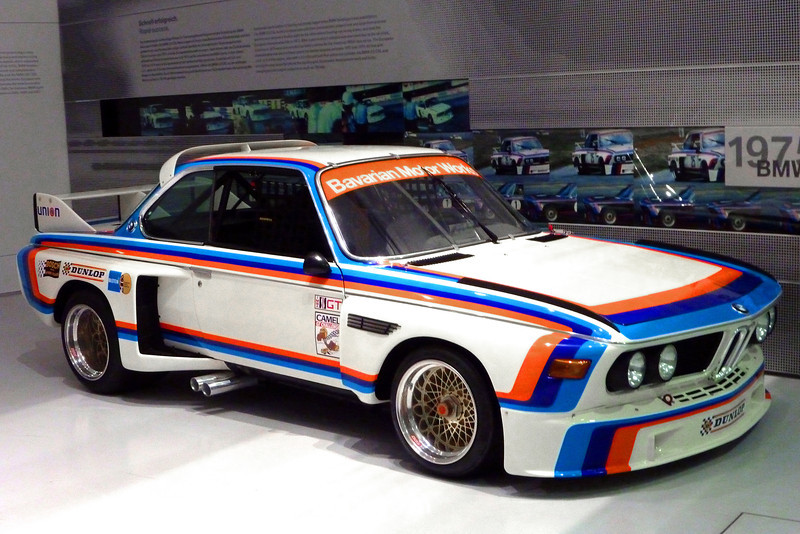 1975 BMW 3.0CSL Race Car