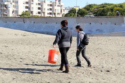 Ocean Beach Clean-Up