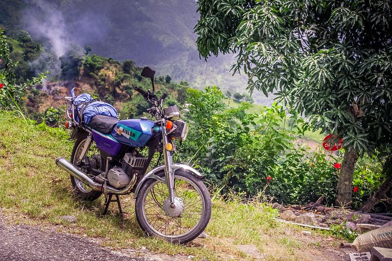Mountain Motorcycle