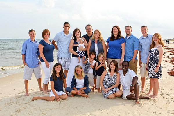 Leonhardt Family St. George Island Beach Photos