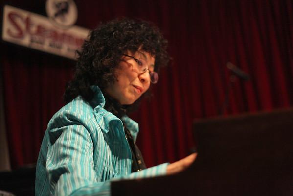 Atsuko Hashimoto,Graham Dechter & Jeff Hamilton at Steamers 8/7/10
