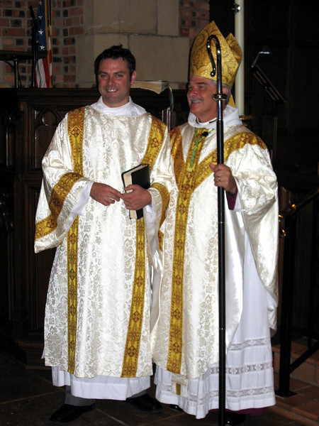 Matthew Clemons and Bishop Iker 2007.JPG