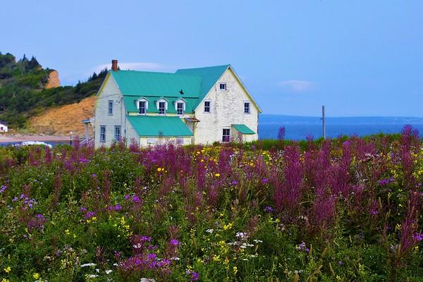 Perce, Quebec (The Gaspe Peninsula) August 2021