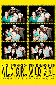 10/10/19 - Kito & Empress Of Wild Girl Lauch Party
