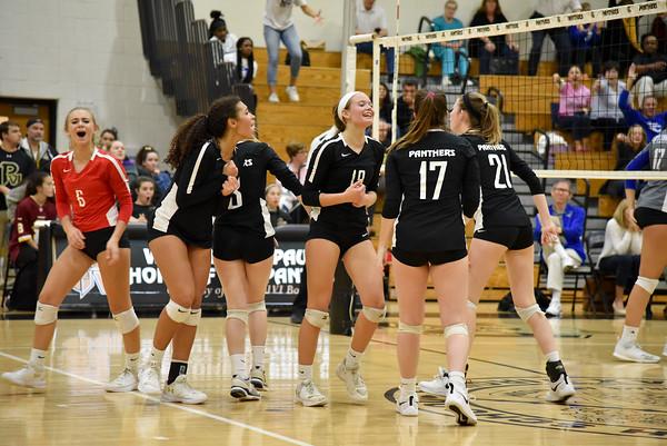 Paul VI (VA) vs. O'Connell (VA) girls volleyball