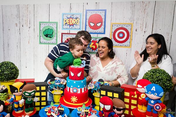 Aniversário de 3 anos do Pedro