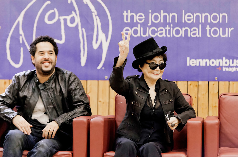 Yoko Ono, John Lennon Educational Tour Bus