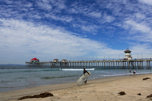 Huntington Beach Pier 03 20 2018