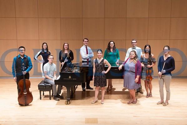 Honors Recital Group Photo for Fringe