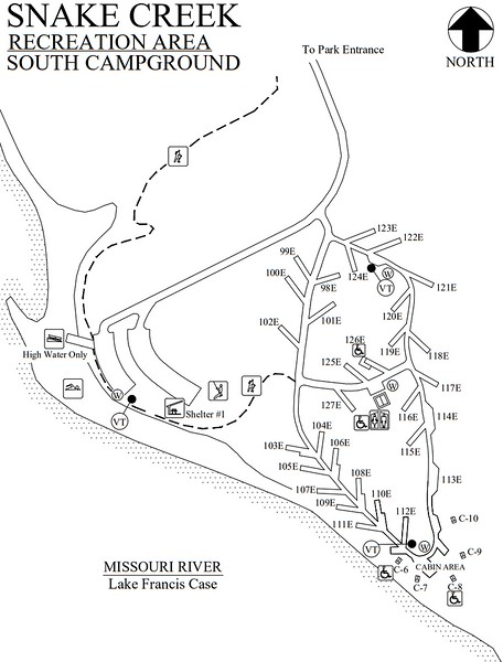 Snake Creek Recreation Area (South Campground)
