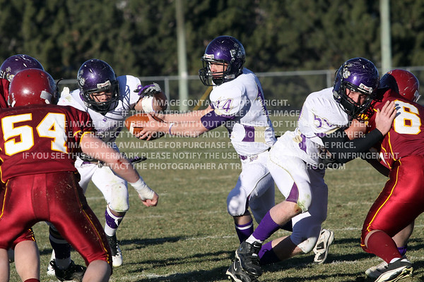 Bayfield Wolverines vs. Brush Beetdiggers 2011 2A State Semi-Final Football