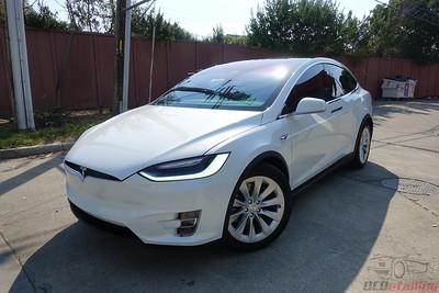2017 Tesla Model X - Multi-Coat White