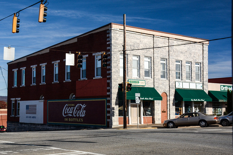 GA, Jasper - Coca-Cola Wall Sign