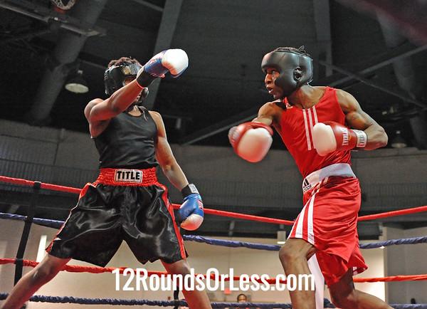 Darren Wilder (Thurgood/PAL) vs Royce McCormick (Good Shepherd)  152 Pounds-Open  Bout # 5