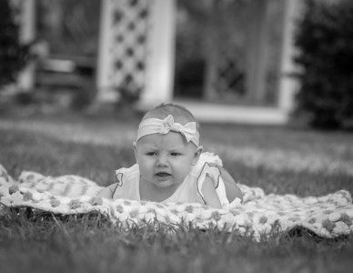 Adelind Frances, 3 months old