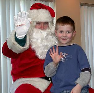 Santa Visits ICC