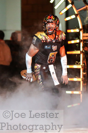 LA KISS vs Arizona Rattlers Arena Football 5-25-14