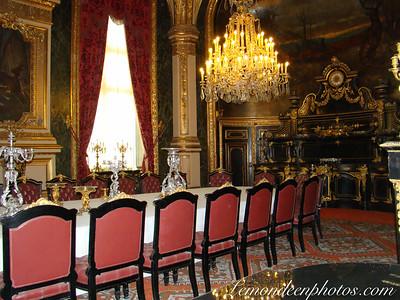 Musée du Louvre - Gros plan sur les Intérieurs et les Appartements de Napoléon