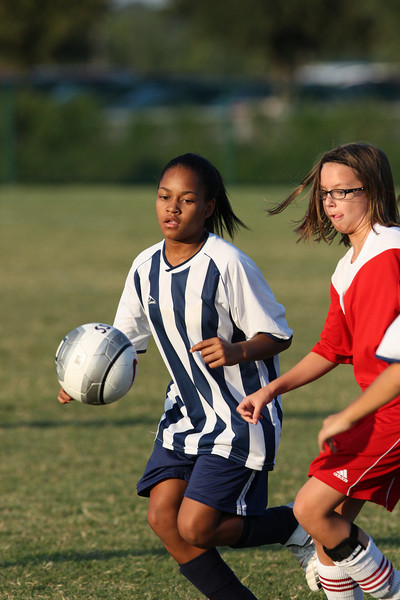 9/24/2008 Frisco Soccer - Starletts v. Goal D'Lux