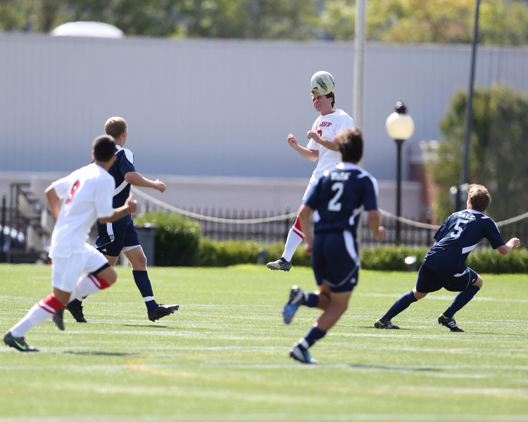 POUGHKEEPSIE, NY - SEPTEMBER 23: Yale verses Marist Soccer on September 23, 2012 at Tenney Stadium in Poughkeepsie New York.  Yale defeats Marist 2-1. (Photo by Sandy Tambone)