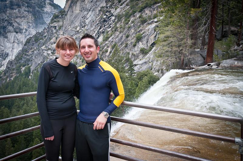 Sammi and I at the top of Vernal Falls