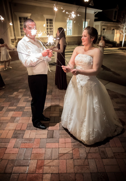 Bride and Groom with Sparklers.jpg