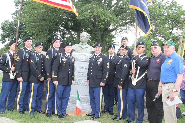 Thomas Francis Meagher Monument Unveiling