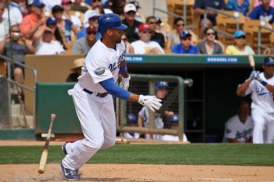 Dodgers Vs. Indians Spring Training 2012