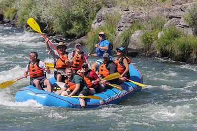 River Drifters on Deschutes