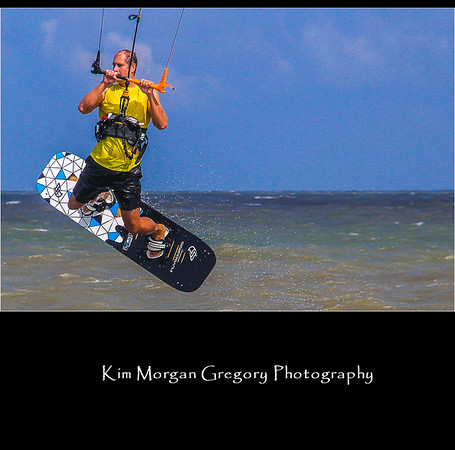 KITEBOARDER MICHAEL ROYAL
