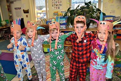 I Saw A Flock Of Kindergarten Turkeys In Pajamas photos by Gary Baker