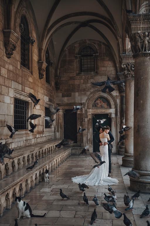 Donfer, 海外婚紗, World tour, 東法, EASTERN WEDDING, 世界旅拍, 杜布羅夫尼克, 十六湖, 克羅埃西亞婚紗