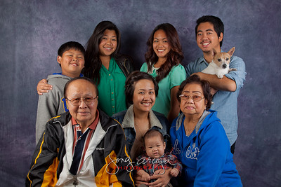 2012 Arcega's Thanksgiving Family Photoshoot
