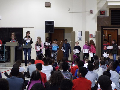 First Trimester Award Assembly Gr. 3-5