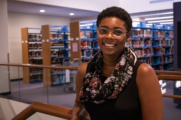 "Crishuana Williams, a senior technical assistant at the Jane Bancroft Cook Library, will give a TEDx talk at the University of South Florida Sarasota-Manatee Nov. 7, 2019, on ""The Power of Unlikely Collaborations."""