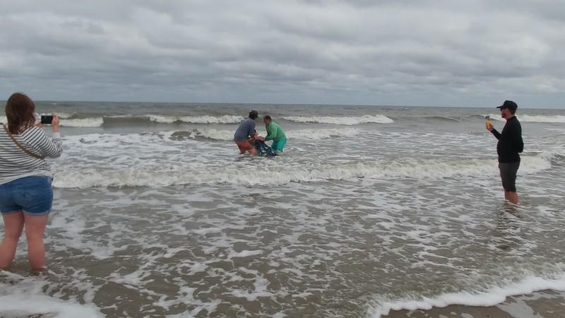 Beaches Vineyard, beach baptisms April 8, 2018