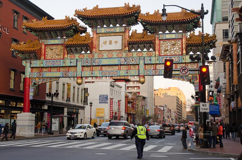 Friendship Archway in Washington's Chinatown