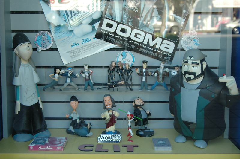 Jay and Silent Bob figurines