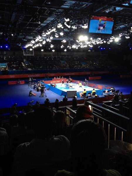 Day 10: ExCel London for Table Tennis - Hong Kong vs. Korea